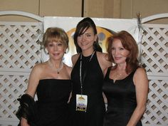 At the California Independent Film Festival with Barbara Eden and Sondra Currie.