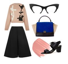 Prim look with Miu Miu glasses from Pretavoir Miu Miu Glasses, Office Style, Office Fashion, Be Perfect, Preppy, How To Wear, Office Attire, Preppy Style, Prep Style