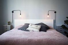 Vores nye sengelamper
