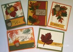 Fall Vintage Leaves