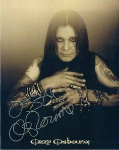 Ozzy - creepy, crazy, hilarious!!!