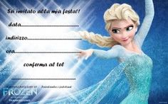 inviti compleanno: frozen