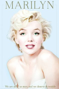 Marilyn Monroe Marilyn - Official Poster. Official Merchandise. Size: 61cm x 91.5cm. FREE SHIPPING