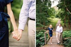 Summer Fairmount Park engagement session in Philadelphia. Photos by Jordan Brian Photography.