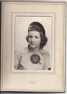 Baseball AAGPBL Millie Warwick Rockford Peaches photo