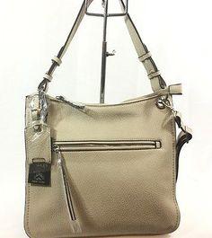 7d3d385e6693 HILARY RADLEY New York Hobo Handbag Convert Cross Body Bone