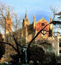 "Church of San Jerónimo el Real, popularly known as ""Los Jerónimos"", Madrid, Spain"