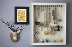 How to Make a Homemade Jewelry Holder