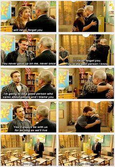 """Boy Meets World, Goodbyes to Mr. Feeny -- aka """"how to make me an emotional wreck in 2 seconds"""""""