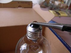 How to Make a Tiny Terrarium in a Light Bulb  - The Hipster Home