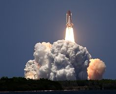 Cape Canaveral, Florida - When I was a little girl we would pull on the side of the road by Cape Canaveral and watch the rockets take off.  Amazing memory.