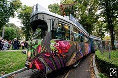 #trolley #Belgrade #Serbia #Art Tram good vibrations. Train rides you in the world of culture, fun and imagination. ------------------------------- Tramvaj dobrih vibracija. Voz vas vozi u svet kulture, zabave i maste. #tramvaj #Beograd #Srbija #umetnost