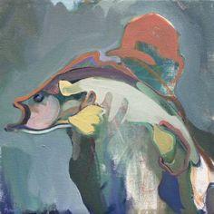 "Saatchi Art Artist Charlotte Evans; Painting, ""catch"" #art"