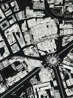 Damien Hirst's sharply constructed maps cut to the heart of modern conflict... http://www.we-heart.com/2014/12/08/damien-hirst-black-scalpel-cityscapes-white-cube-sao-paolo/
