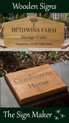 Wooden Signage, Sign Maker, Douglas Fir, Red Cedar, Home Signs, Just The Way, Bamboo Cutting Board, Clear Acrylic, The Unit