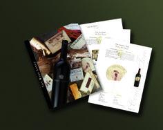 Brochure Top Wine Label Medalla de Bronce Sappi Printers of the year 2002
