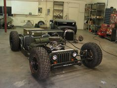 "4x4 rats??? - KillBillet.com ""The Rat Rod Forum Dedicated to fun, low budget, traditional, rusty, patina Rat Rods, Rat Rod Cars, Rat Rod Trucks, Rat Rod Bikes and Old School Hot Rods built with junk yard parts."""