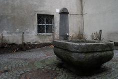 Brunnen am Gymnasiumplatz Feldkirch, Gymnasium, Austria, Fountain, Outdoor Decor, Artwork, Image, Work Of Art, Auguste Rodin Artwork