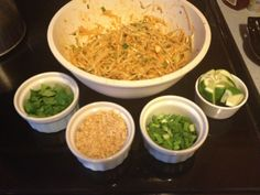 Easy Chicken Pad Thai-  Pampered Chef Recipe