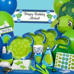 Parker's First Birthday theme ~ Mr. Turtle