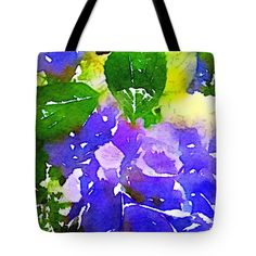 memories of summer II blue hydrangeas Tote Bag for Sale by Anna Porter Blue Hydrangea, Hydrangeas, Floral Tote Bags, Thing 1, Poplin Fabric, Bag Sale, Fine Art America, Totes, Floral Design