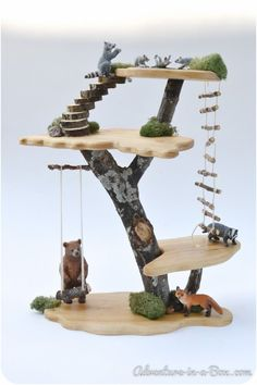 DIY-Projekt: Wie man ein Toy Tree House baut #house #projekt,