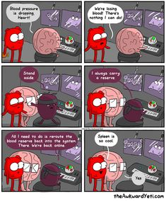 The Awkward Yeti comics Spleen