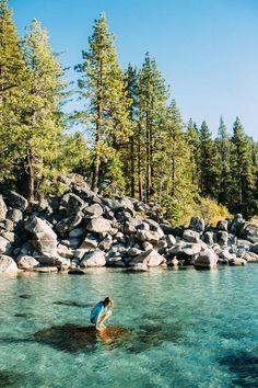 Skunk Harbor [1.5mi easy hike down to water] - Lake Tahoe