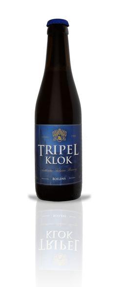 Tripel Klok / Door gul gebruik van de fijnste hoppen krijgt dit bier een pittig en fruitig aroma. Hergisting op fles.