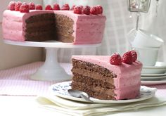 Bilderesultat for sommerkake Pudding Desserts, No Bake Desserts, Norwegian Food, Norwegian Recipes, Cake Recipes, Dessert Recipes, Something Sweet, Holidays And Events, Vanilla Cake