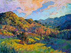 Early California style of painting in contemporary impressionism, by Erin…