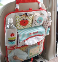 Decole polka dot apple snail picnic car bag - CUTE!!!