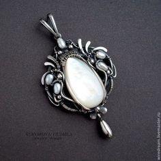 серебряный кулон Леди - серебряный,серебряные украшения,кулон серебро
