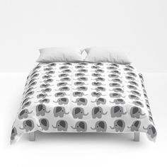 Elephant Comforter - Bed Cover - Bedding - King - Queen - Full - Made to Order by ShelleysCrochetOle on Etsy