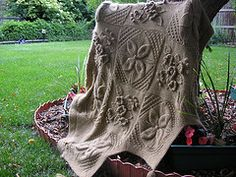 Ravelry: Counterpane Afghan pattern by Nicky Epstein