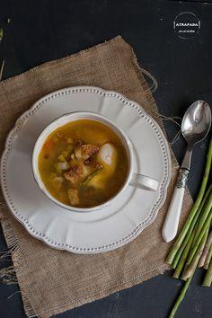 Atrapada en mi cocina: SOPA DE ESPÁRRAGOS VERDES