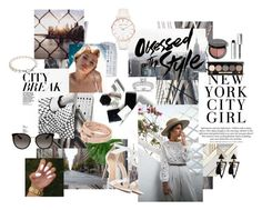 City style by kaoriihayashi on Polyvore featuring polyvore, fashion, style, Alexandre Birman, Abbott Lyon, Tory Burch, Gucci, Annello, Bobbi Brown Cosmetics, H&M and clothing