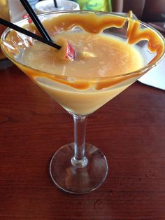 Perfect For Fall Girls Night Out!! Salted Caramel Apple Martini At Ruby  Tuesday!