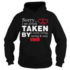 Cool KWON Sorry i'm already by KWON tee shirts T-Shirts