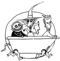 nightmare before christmas colouring pages - Google Search | NMBC ...