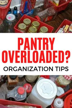 Organize your pantry on a budget with these dollar store ideas. If you're pantry is overflowing with food and cans then you can learn how to declutter and organize pull out drawers with these ideas. Diy Storage, Storage Ideas, Storage Hacks, Kitchen Storage, Custom Pantry, Fabric Book Covers, Diy Stool, Shaker Style Doors, Diy Playbook