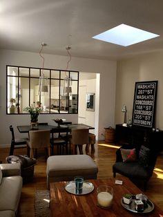 Verrière d'intérieur atelier d'artiste type loft 3 travées avec traverse 1500x1030