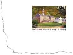 Located in the Catoctin Mountains just south of Emmitsburg, Maryland, Mount Saint Mary's College and Seminary was established by Father John DuBois in 1808, making it the second-oldest Catholic college in the U.S. The school changed its name to Mount St. Mary's University on June 7, 2004. It was honored on a stamped card in 2008 to commemorate its 200th anniversary.