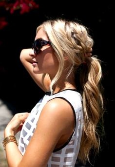 29 Ponytails That are Anything But Boring via Brit + Co.