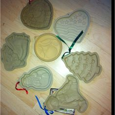 $1.50-.99 Pampered Chef cookie molds I believe they cost more than the above