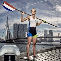 """We have just officially presented the cover image for WRCH2016 at KNRB. In the picture @mariekeijser, World Champion JW1x Photography by…"""