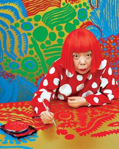Jerry Saltz's 33 Rules for Being an Artist Even in a psychiatric hospital, Yayoi Kusama is prolific. Artist Art, Artist At Work, Yayoi Kusama, Arte Pop, Conceptual Art, Art Plastique, Elementary Art, Famous Artists, Art Studios