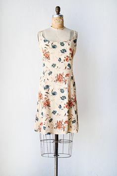 vintage 1990s floral mini sundress