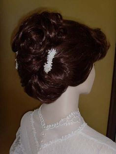 Victorian wedding hairstyle