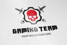 Gaming Team logo v1 by vectorlogos89 on Creative Market